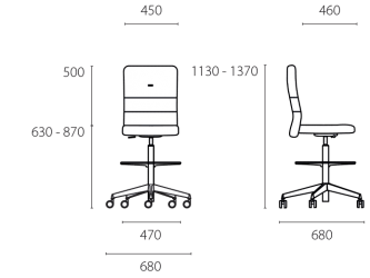 lento-agilis-ag70-ergonomischer-tresenstuhl-counterstuhl-mittelhoch