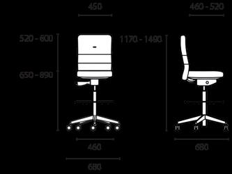 lento-agilis-ag71-ergonomischer-tresenstuhl-counterstuhl-mittelhoch