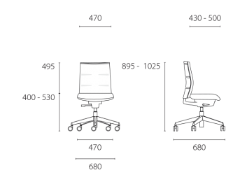 lento-agilis-matrix-mt10-ergonomischer-drehstuhl-mittelhoch