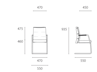 lento-agilis-matrix-mt50-ergonomischer-freischwinger-mittelhoch