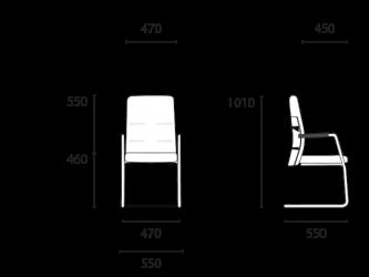 lento-agilis-matrix-mt51-ergonomischer-freischwinger-mittelhoch-mit-aufsatz