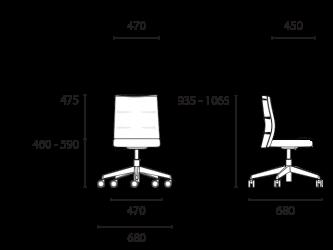lento-agilis-matrix-mt60-ergonomischer-drehstuhl-mittelhoch