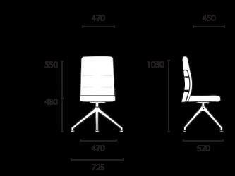 lento-agilis-matrix-mt65-ergonomischer-drehstuhl-mittelhoch-mit-aufsatz