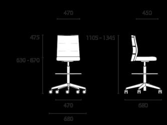 lento-agilis-matrix-mt70-ergonomischer-counterstuhl-mittelhoch
