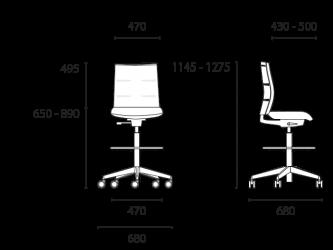 lento-agilis-matrix-mt72-ergonomischer-counterstuhl-mittelhoch