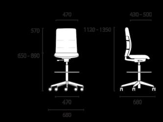 lento-agilis-matrix-mt73-ergonomischer-counterstuhl-mittelhoch-mit-aufsatz