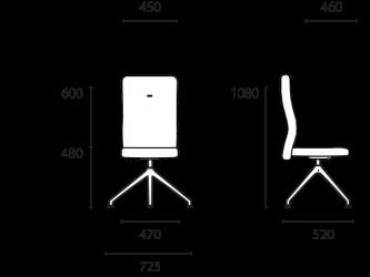 lento-laboro-la63-ergonomischer-drehstuhl-hoch